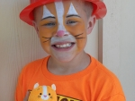06 Facepainting Feline Future Firefighter