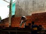 Building an indoor soccer field2