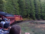 02 Skunk Train going round the bend