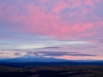 II Mt Adams spring sunrise