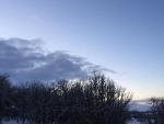 Winter sky - 3-7-19 - Jocelyn Weeks