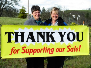 pic Thank you for supporting 2011 sale (Gwen & Sharon)