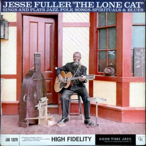 PIC Jesse Fuller LP cover