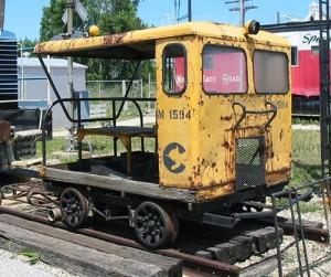 Fairbanks Morse rail car