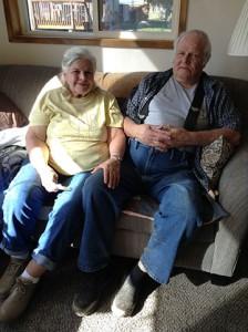 Dan and Frances Hartford. Photo: Audrey Bentz